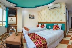 آپارتمان یک خواب چهار تخت رو به دریا